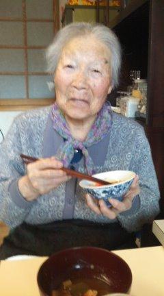96歳の上村末海(まつみ)